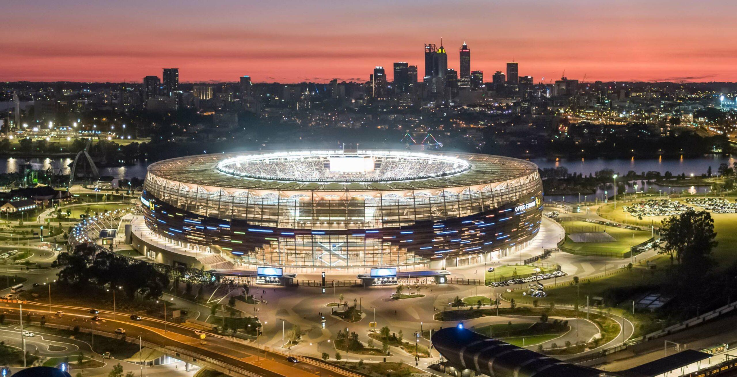 Perth Stadium Menard