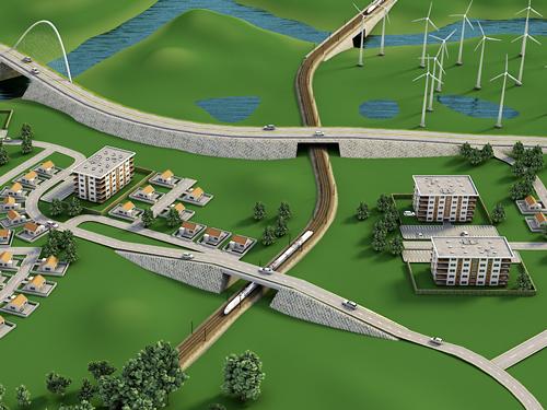 Rail and Road Menard