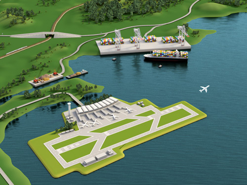 Expert in ports and airports