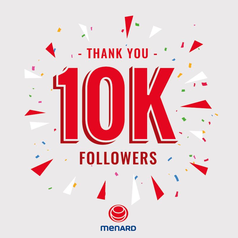 10K followers on our LinkedIn account, thank you